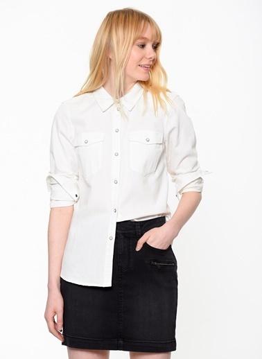 Uzun Kollu Gömlek-Vero Moda